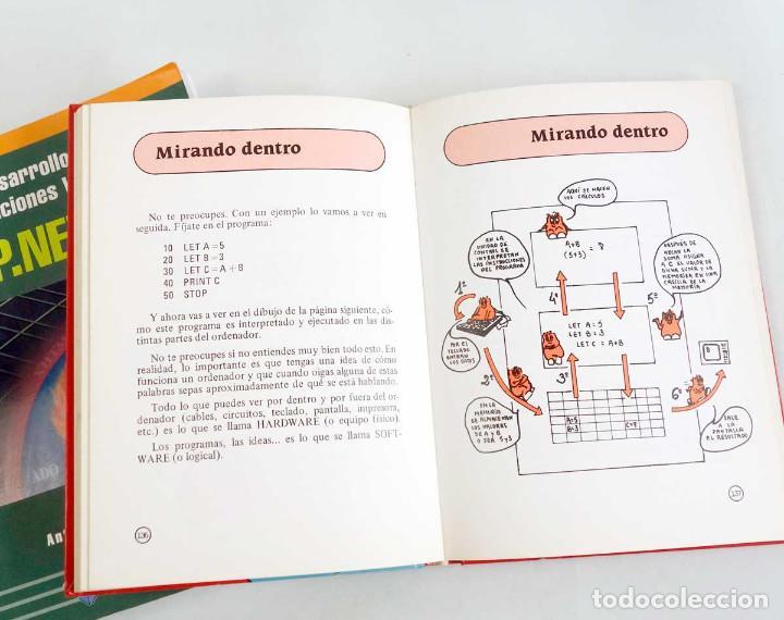 Libros de segunda mano: LOTE 2 LIBROS DE INFORMÁTICA. ASP.NET 2.0 Y BASIC PARA NIÑOS - Foto 3 - 221157545