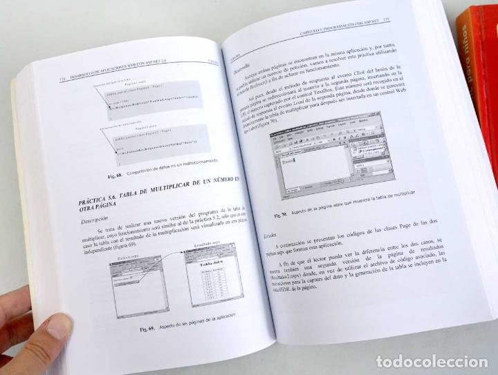 Libros de segunda mano: LOTE 2 LIBROS DE INFORMÁTICA. ASP.NET 2.0 Y BASIC PARA NIÑOS - Foto 4 - 221157545