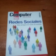 Libros de segunda mano: COMPUTER HOY. REDES SOCIALES. HAZ AMIGOS EN TODO EL MUNDO. EST19B5. Lote 221760792