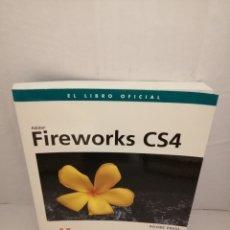Libros de segunda mano: FIREWORKS CS4 (DISEÑO Y CREATIVIDAD) INCLUYE CD-ROM. Lote 223219940