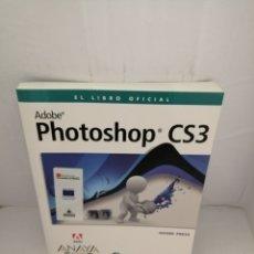 Libros de segunda mano: PHOTOSHOP CS3: EL LIBRO OFICIAL (INCLUYE CD-ROM). Lote 223472970