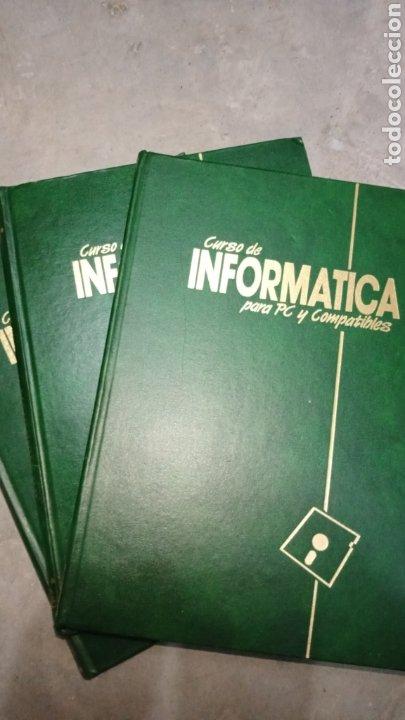 CURSO DE INFORMÁTICA PARA PC Y COMPATIBLES, 3 TOMOS, F&G EDITORES (Libros de Segunda Mano - Informática)