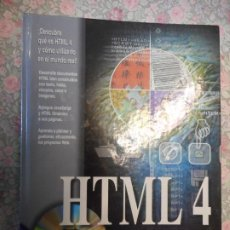 Libros de segunda mano: HTML 4. MOLLY E. HOLZSCHLAG. ANAYA MULTIMEDIA. APRENDA A PLANEAR Y GESTIONAR, EFICAZMENTE LOS PROYEC. Lote 223898381