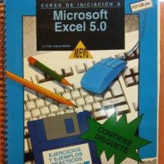 Libros de segunda mano: CURSO DE INICIACIÓN A MICROSOFT EXCEL 5.0. DATA FUTURA. FORMACIÓN PROFESIONAL. Lote 223922105