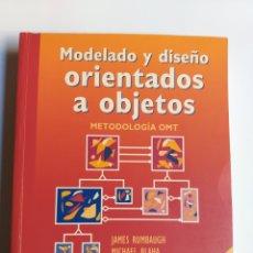 Libros de segunda mano: MODELADO Y DISEÑO ORIENTADOS A OBJETOS. METODOLOGÍA OMT ... INFORMÁTICA. Lote 224017831