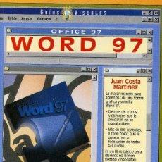 Libros de segunda mano: WORD 97. Lote 224580266