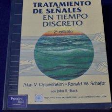 Libros de segunda mano: TRATAMIENTO DE SEÑALES EN TIEMPO DISCRETO - SCHAFER, RONALD; BUCK, JOHN. Lote 222500078