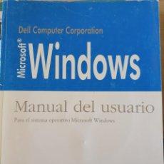 Libros de segunda mano: MICROSOFT WINDOWS. MANUAL DEL USUARIO. PARA EL SISTEM OPERATIVO MICROSOFT WINDOWS VERSION 3.1 -. Lote 225286937