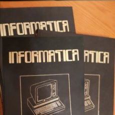 Libros de segunda mano: INFORMÁTICA. TOMOS I , II Y III. ED NUEVA LENTE 1983. Lote 221161416