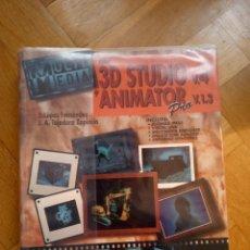 Libros de segunda mano: MULTIMEDIA CON 3D STUDIO V.4 Y ANIMATOR PRO V. 1.3 (ED. MCGRAW-HILL). AÑO 1995. Lote 227589290