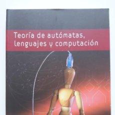 Libros de segunda mano: LIBRO TEORÍA DE AUTÓMATAS, LENGUAJES Y COMPUTACIÓN, 3° EDICIÓN, EDITORIAL PEARSON. Lote 227606525