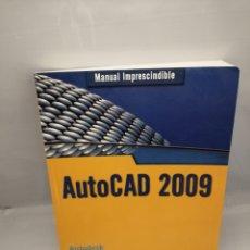Libros de segunda mano: AUTOCAD 2009 (MANUALES IMPRESCINDIBLES). Lote 228279565