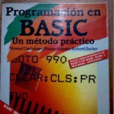 Libros de segunda mano: PROGRAMACIÓN EN BASIC. Lote 229226785