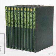 Libros de segunda mano: ENCICLOPEDIA DE INFORMÁTICA - MI COMPUTER. 10 TOMOS - ED. DELTA, 1984. Lote 230020035