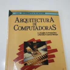 Libros de segunda mano: ARQUITECTURA DE COMPUTADORAS. Lote 230668120