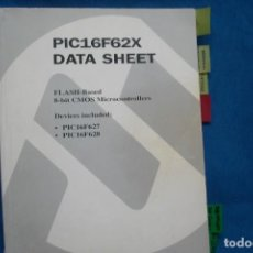 Libros de segunda mano: PIC16F62X DATA SHEET - MICROCHIP AÑO 1999. Lote 231244025