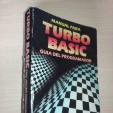 Libri di seconda mano: MANUAL PARA TURBO BASIC: GUÍA DEL PROGRAMADOR - FCO. JAVIER CEBALLOS (EDITORIAL RA-MA). Lote 232023525