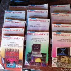 Libri di seconda mano: LOTE 13 LIBROS DISEÑO ELECTRÓNICO. Lote 232823920