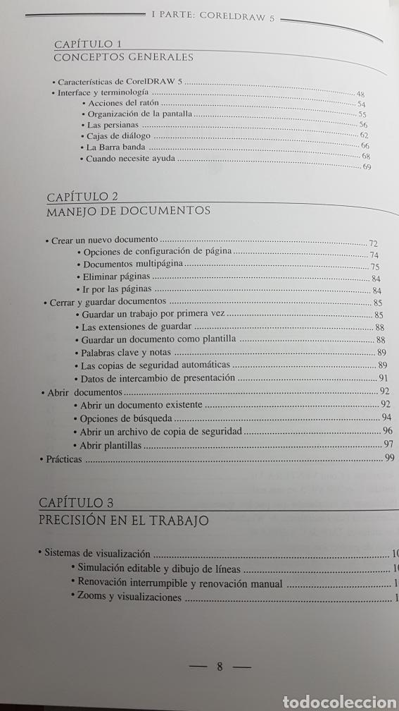 Libros de segunda mano: Coreldraw 5 curso de diseño gráfico - Corel Draw - M. Noguera Muntadas - Informática Inforbooks - Foto 6 - 233243020