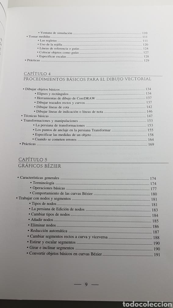 Libros de segunda mano: Coreldraw 5 curso de diseño gráfico - Corel Draw - M. Noguera Muntadas - Informática Inforbooks - Foto 7 - 233243020