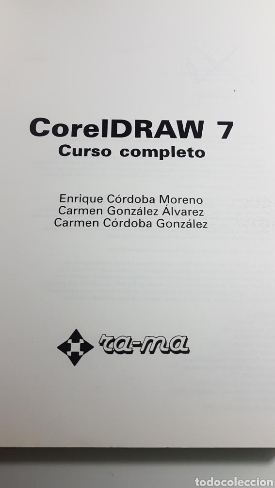 Libros de segunda mano: CorelDraw 7 curso completo - Corel Draw - Ra Ma - E Córdoba C González C Córdoba - Foto 2 - 233269535
