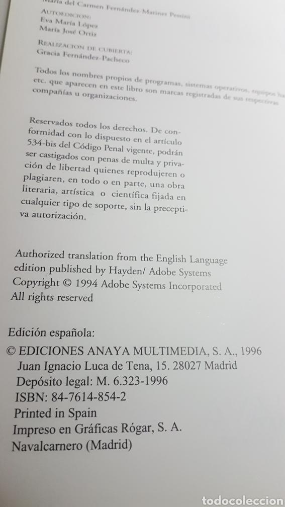 Libros de segunda mano: Adobe PageMaker Versión 6 para windows - Anaya multimedia - incluye cd rom - Foto 2 - 233270090