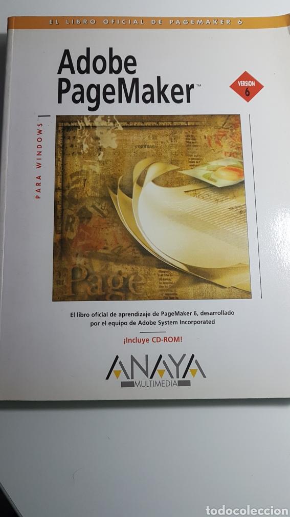 ADOBE PAGEMAKER VERSIÓN 6 PARA WINDOWS - ANAYA MULTIMEDIA - INCLUYE CD ROM (Libros de Segunda Mano - Informática)