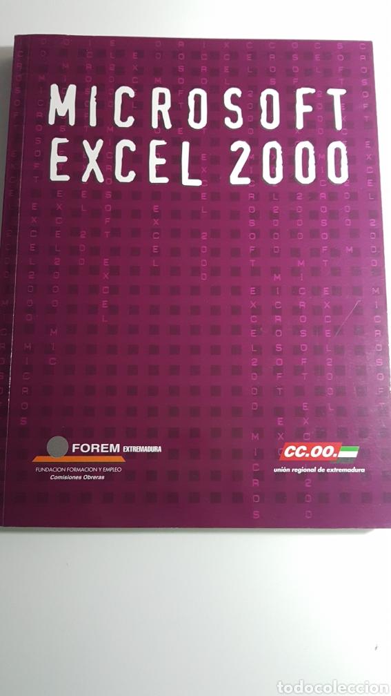 MICROSOFT EXCEL 2000 - FOREM EXTREMADURA COMISIONES OBRERAS CC.OO. (Libros de Segunda Mano - Informática)