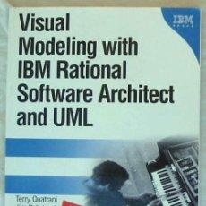 Libros de segunda mano: VISUAL MODELING WITH IBM RATIONAL SOFTWARE ARCHITECT AND UML - TERRY QUATRANI 2006 - VER INDICE. Lote 235436780