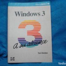 Libros de segunda mano: WINDOWS 3 A SU ALCANCE - TOM SHELDON - MC GRAW -HILL 1991. Lote 235828350