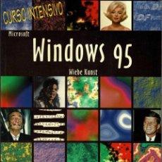 Libros de segunda mano: CURSO INTENSIVO MICROSOFT WINDOWS 95 - WIEBE KUNST. Lote 236069715