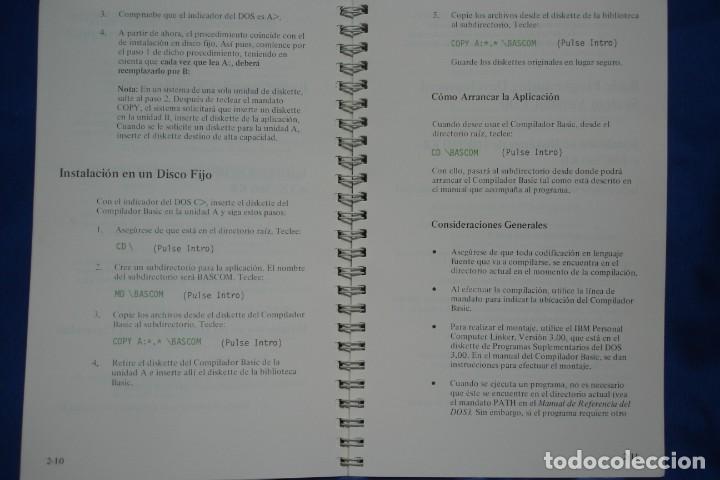 Libros de segunda mano: SISTEMA OPERATIVO EN DISCO VERSIÓN 3.00 - GUIA DE INSTALACIÓN - IBM 1ª EDICIÓN 1984 - Foto 3 - 236255840
