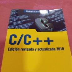 Libros de segunda mano: MANUAL C/C + + - ANAYA MULTIMEDIA 2010. Lote 236267665