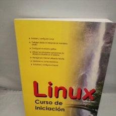 Libros de segunda mano: LINUX, CURSO DE INICIACIÓN. Lote 237478355
