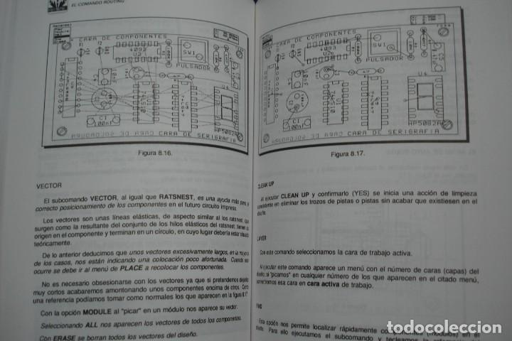 Libros de segunda mano: ORCAD PCB II - MANUEL MARTÍNEZ ALGUACIL - ED. PARANINFO 1995 - Foto 4 - 238041315