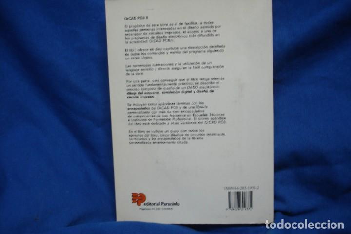 Libros de segunda mano: ORCAD PCB II - MANUEL MARTÍNEZ ALGUACIL - ED. PARANINFO 1995 - Foto 5 - 238041315