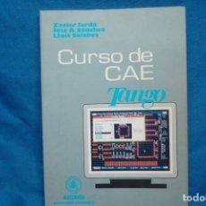 Libros de segunda mano: CURSO DE CAE TANGO - XAVIER JORDÁ, JOSÉ A. SÁNCHEZ , LLUIS SOLANES - ED MARCOMBO 1993. Lote 238507940