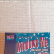 Libros de segunda mano: WINDOWS ME, MILLENNIUM EDITION PARA TORPES. Lote 239473255