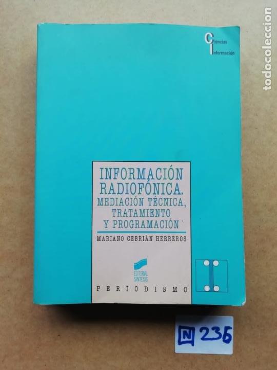 INFORMACIÓN RADIOFÓNICA (Libros de Segunda Mano - Informática)