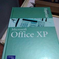 Libros de segunda mano: LIBRO INFORMATICA MICROSOFT OFFICE XP EDICIÓN ESPECIAL ED BOTT. Lote 154476234