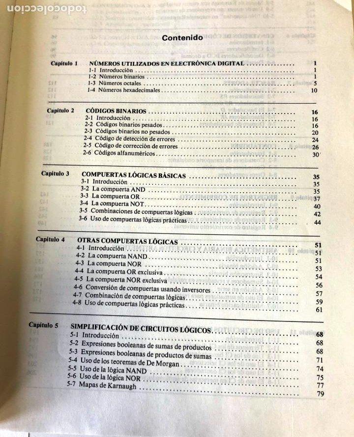 Libros de segunda mano: Teoría y problemas de principios digitales, de Roger L. Tokheim. - Foto 4 - 241702140