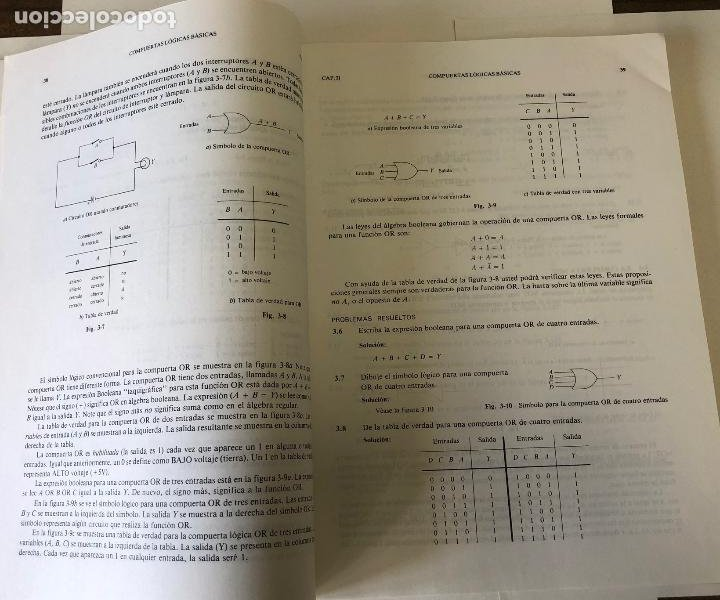 Libros de segunda mano: Teoría y problemas de principios digitales, de Roger L. Tokheim. - Foto 7 - 241702140
