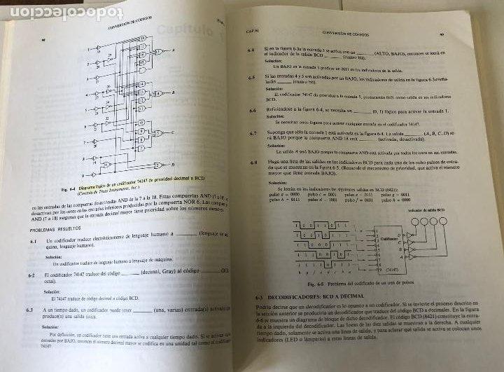 Libros de segunda mano: Teoría y problemas de principios digitales, de Roger L. Tokheim. - Foto 11 - 241702140