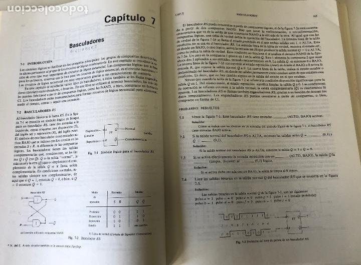 Libros de segunda mano: Teoría y problemas de principios digitales, de Roger L. Tokheim. - Foto 12 - 241702140