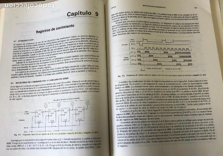 Libros de segunda mano: Teoría y problemas de principios digitales, de Roger L. Tokheim. - Foto 14 - 241702140