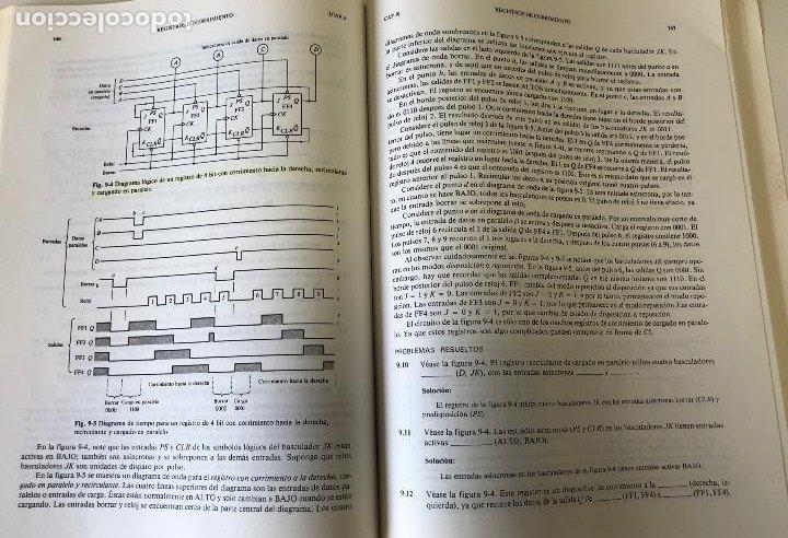 Libros de segunda mano: Teoría y problemas de principios digitales, de Roger L. Tokheim. - Foto 15 - 241702140