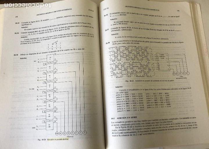 Libros de segunda mano: Teoría y problemas de principios digitales, de Roger L. Tokheim. - Foto 16 - 241702140