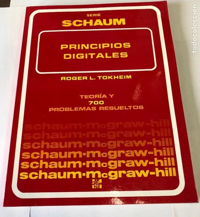 TEORÍA Y PROBLEMAS DE PRINCIPIOS DIGITALES, DE ROGER L. TOKHEIM. (Libros de Segunda Mano - Informática)