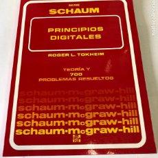 Libros de segunda mano: TEORÍA Y PROBLEMAS DE PRINCIPIOS DIGITALES, DE ROGER L. TOKHEIM.. Lote 241702140