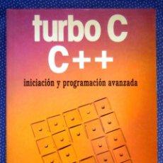 Libros de segunda mano: TURBO C/C++ANTONIO MATA ESTARELLAS- EDICIONES PARANINFO. Lote 243676200